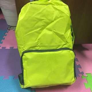 🚚 全新⭐️可收成小袋子防水防風後背包