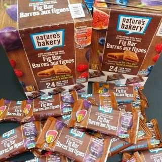 Nature's Bakery Fig Bars 1.3kg (24pcs)