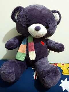 Tedy bear purple