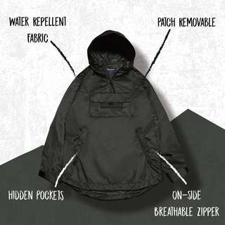 Goopi type-H functional Anorak Jacket