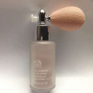 New The Body Shop body glitter