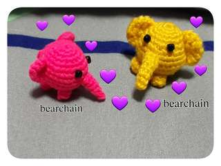 Crochet Mini Elephant
