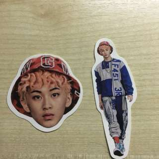 Mark , Doyoung, Yuta , Taeil sticker sets (from Limitless album)