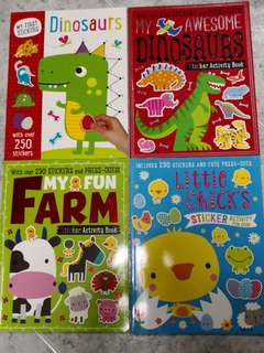 Stickers activity book