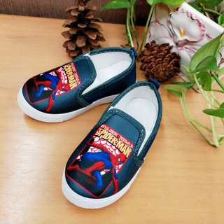 Spider canvas shoe