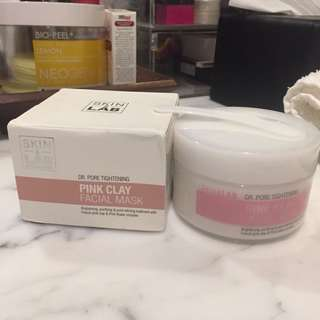 skin&lab pink clay mask