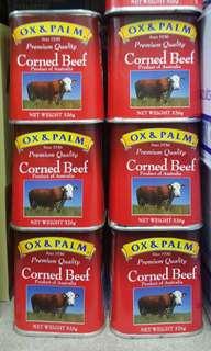 OX & PALM CORNED BEEF 326g