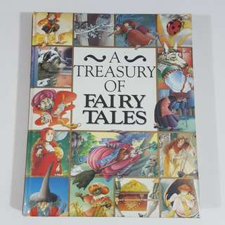 A Treasury of Fairy Tales [Hardcover]