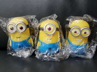 Minions figurine for cake topper party decoration