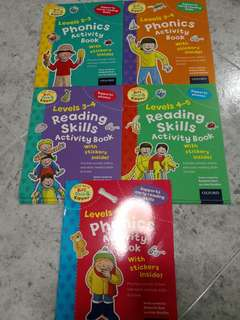 Phonics activity sticker book