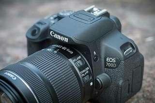 Canon 700D Bisa Di Kredit DP Dan Angsuran Sangat murah