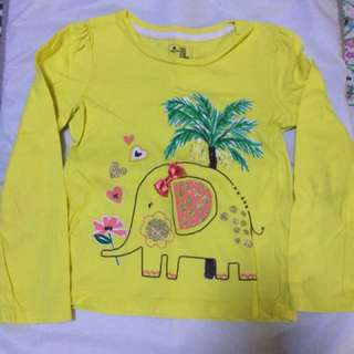 Baby Gap Girl Yellow Tshirt