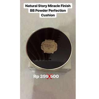 Natural Story Miracle FInish BB Powder Perfection Cushion