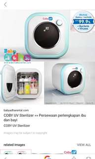 Coby steriliser and dryer ( bacteria free 99%)