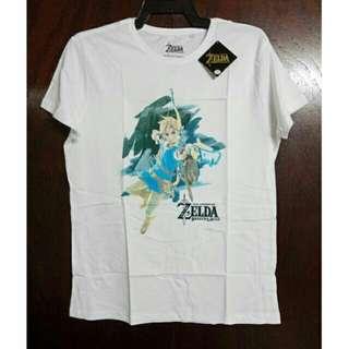 Nintendo Zelda Breath of the Wild White Shirt