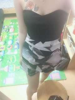 平口連身褲