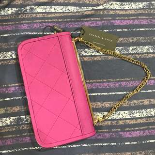 Authentic Charles and Keith Wallet with Sling