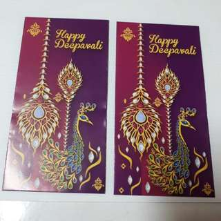 Angpow Packet Sampul Deepavali Public Bank Grp
