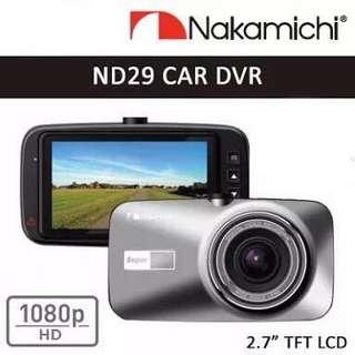 Brandnew Nakamichi ND29 Full HD Dashcam