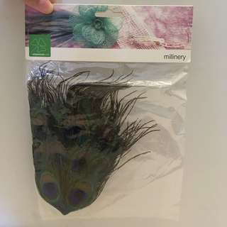 Craft Bits: Faux Peacock Feathers