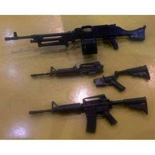 Little Armory LA002 M240B LA 001 M4A1