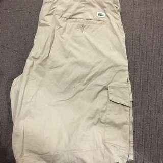Men's Lacoste Cargo Shorts