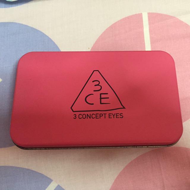 3CE Concept Eyes Travel Makeup Brush Kit