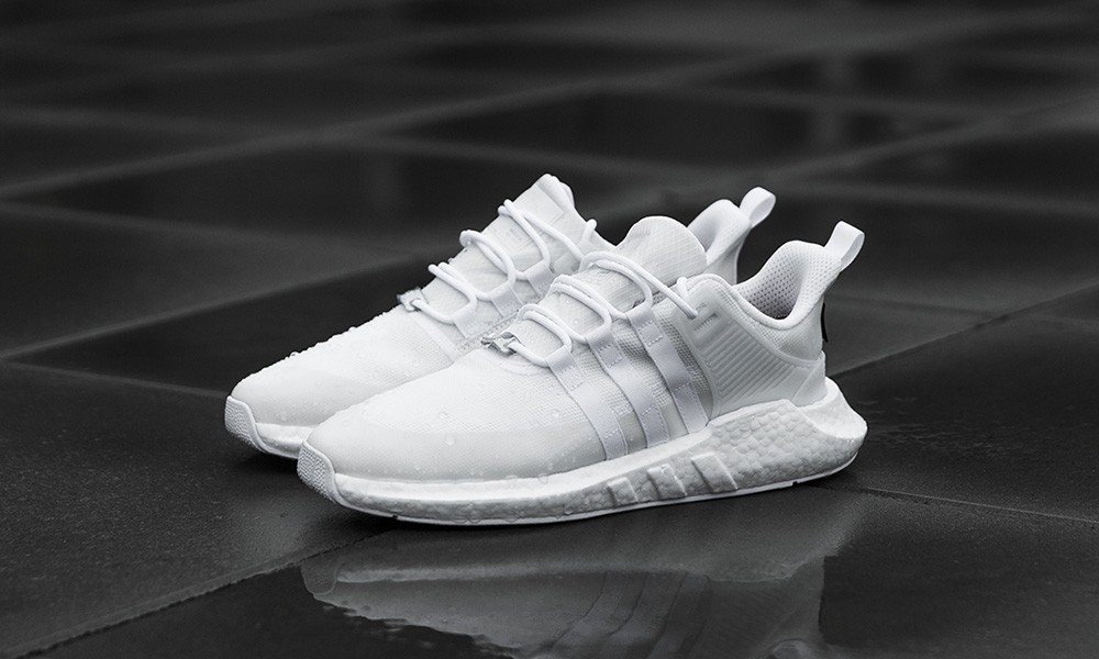 best sneakers b6d8a a776e Adidas EQT 9317 - Gore Tex GTX - Triple White, Mens Fashion, Footwear on  Carousell