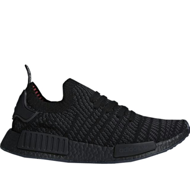 free shipping 052dd cd409 Adidas NMD Runner R1 PK STLT triple Black