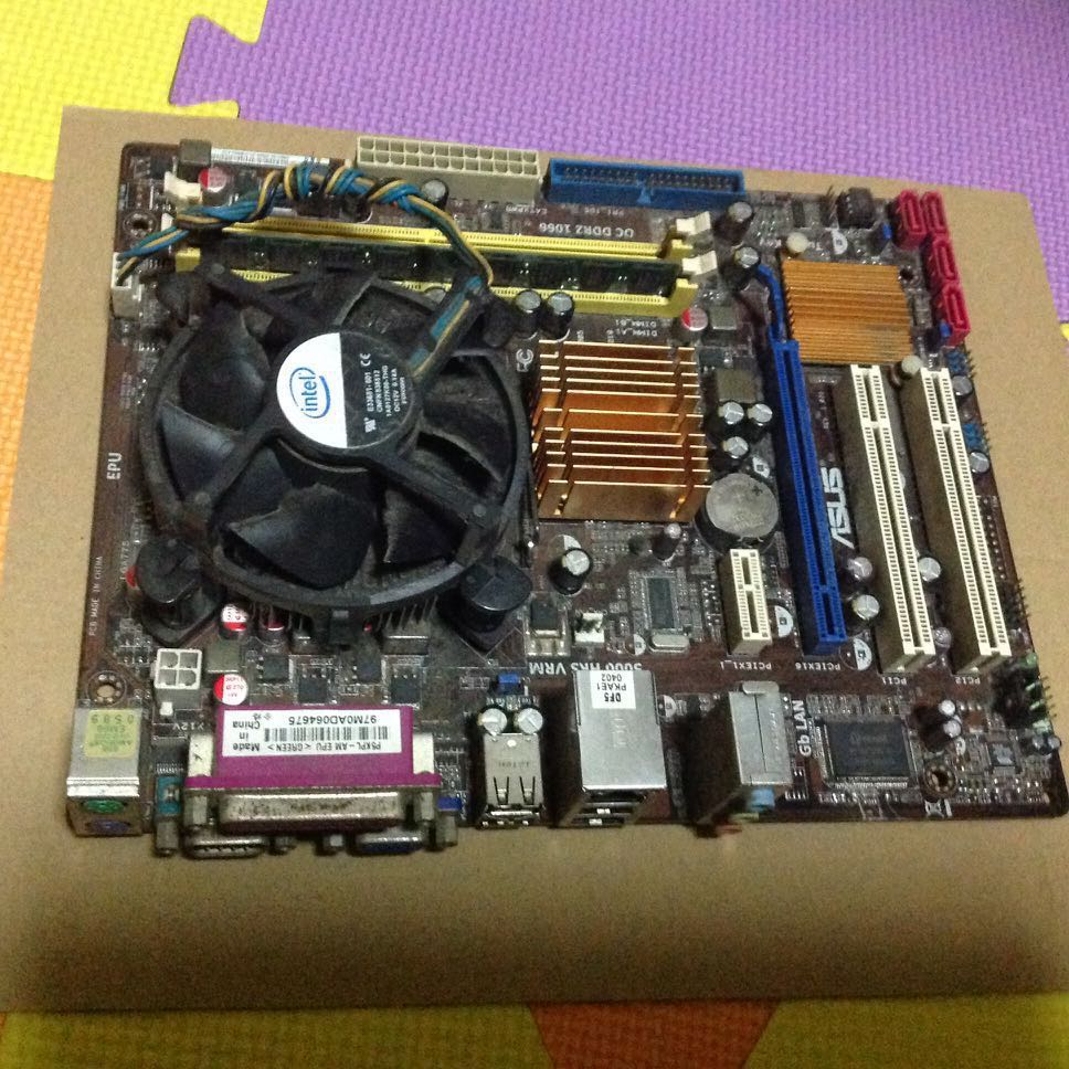 Asus motherboard with Brandew generic casing