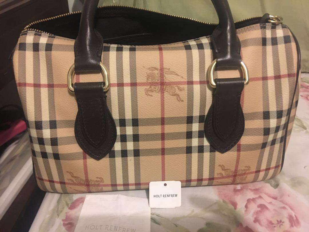 Authentic Burberry bag w/ reciept