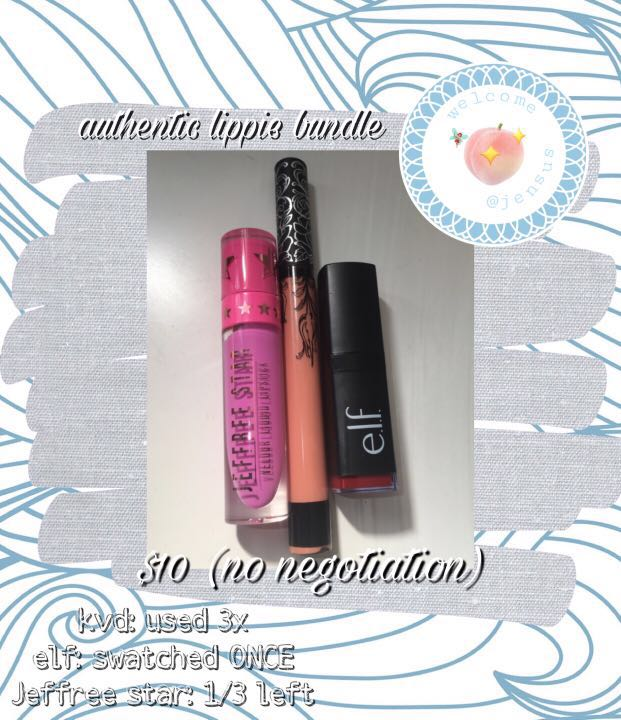 authentic lippie bundle