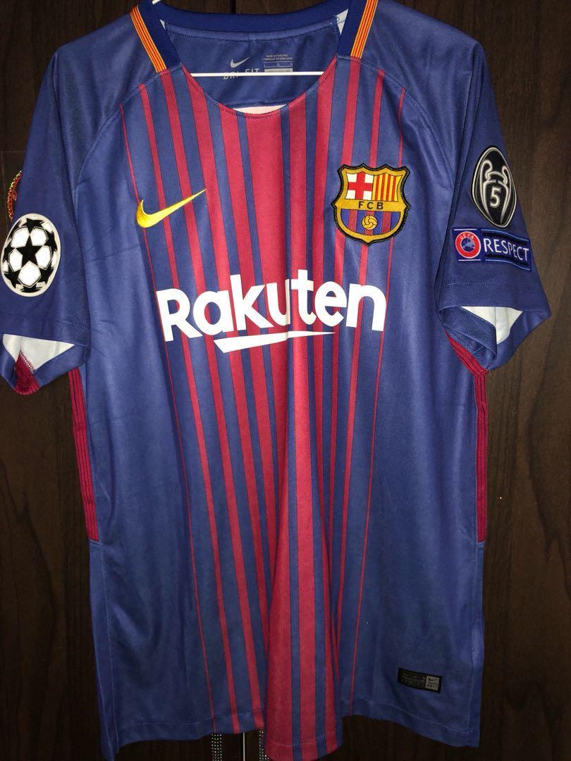 new arrival 12ada 3673c Barcelona home replica jersey