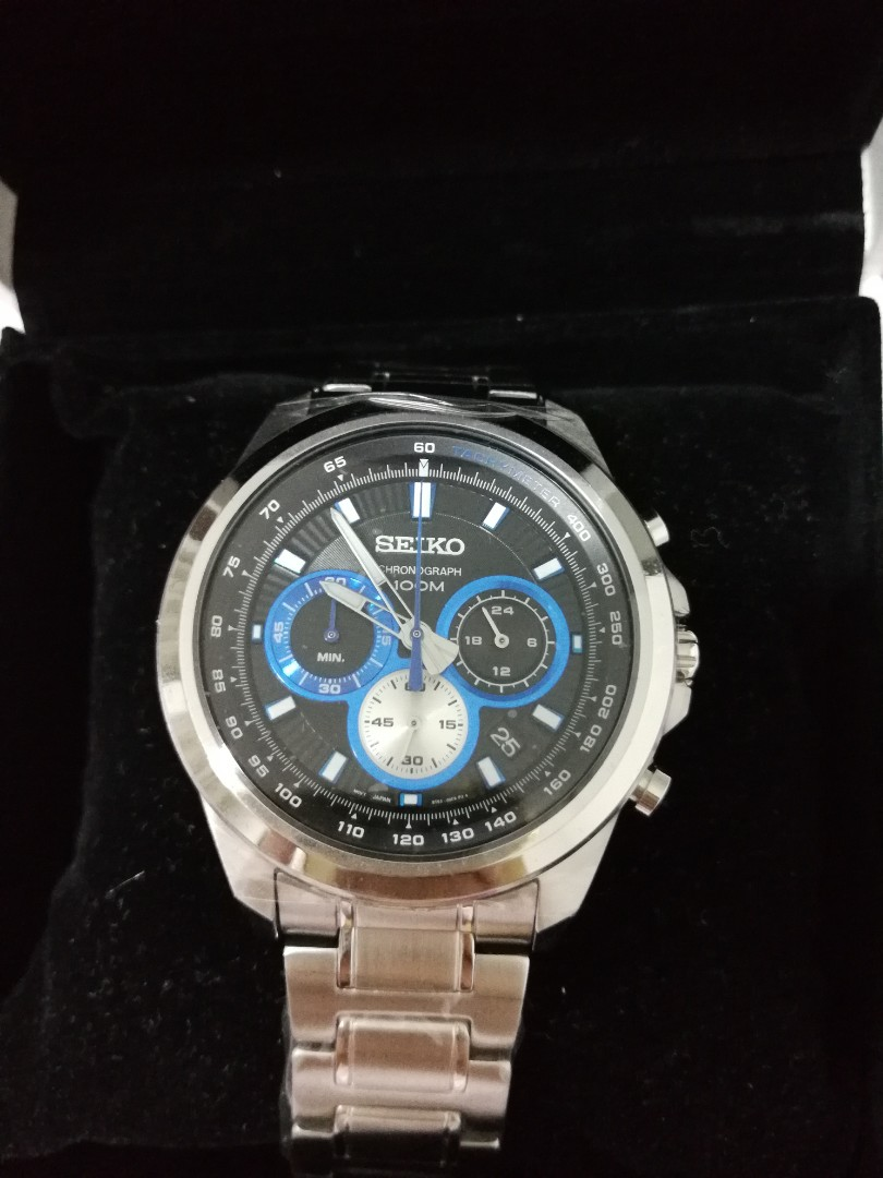 buy popular aeae8 0cd70 Bland New SEIKO 8T63, Men's Fashion, Watches on Carousell