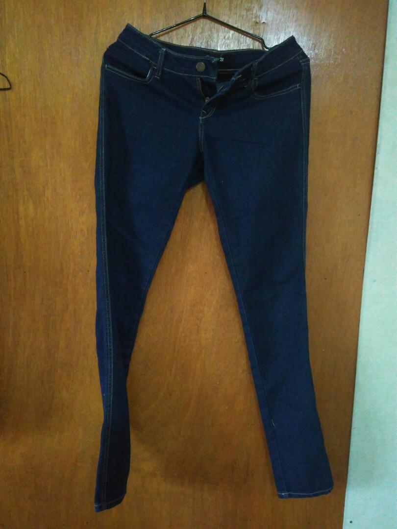 Blue demin Forever 21 jeans