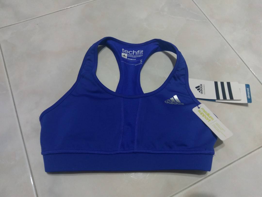 7035d08a5a BN adidas Techfit Climacool Medium Compression Sports Bra