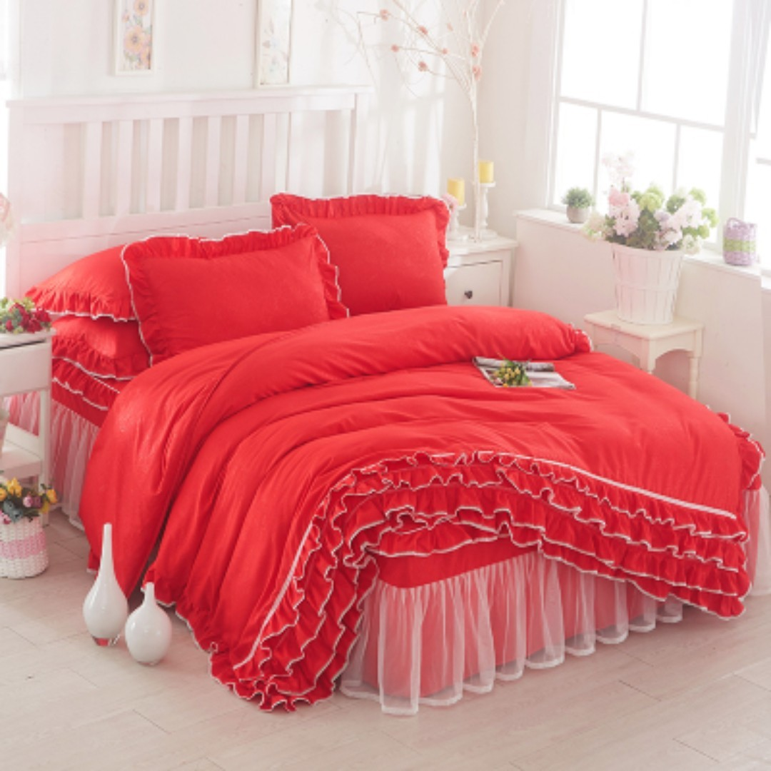 Cadar Pengantin Ropol Home Furniture Others On Carousell