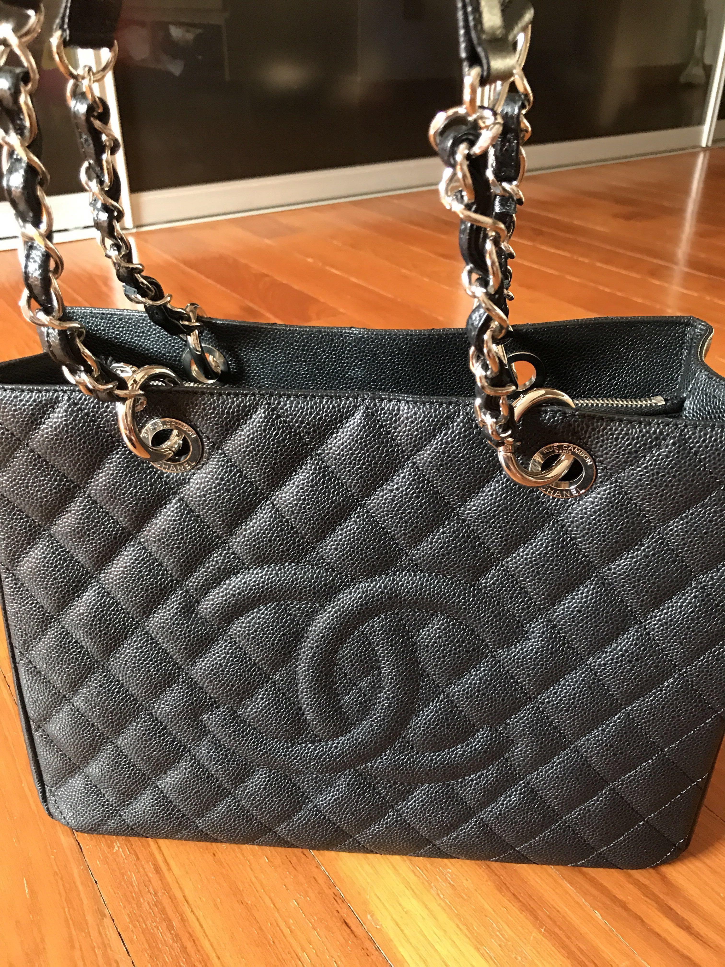 1cc037d47c6f Chanel caviar grand shopping tote GST, Women's Fashion, Bags ...