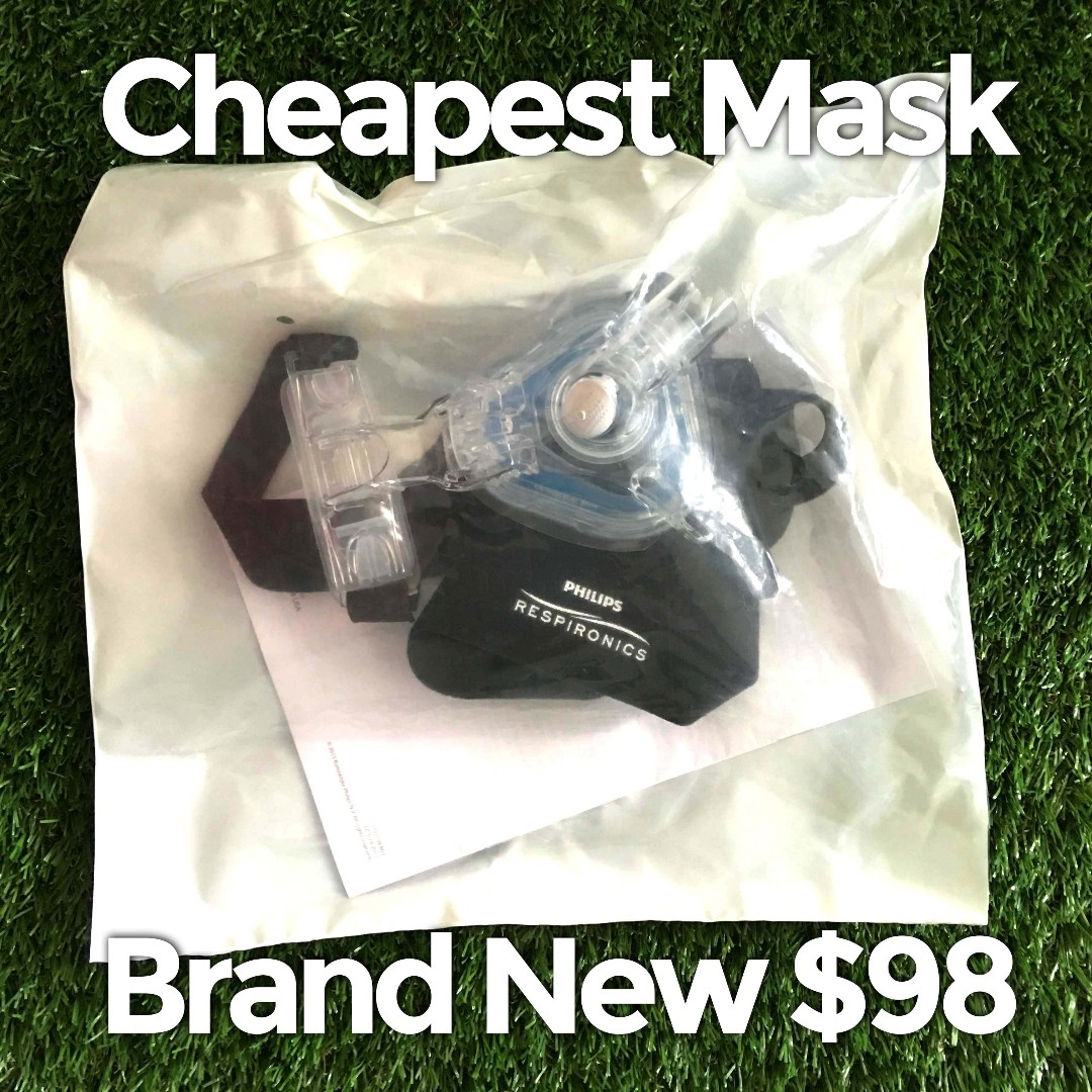 Cheapest CPAP Mask Philips Respironics Brand New