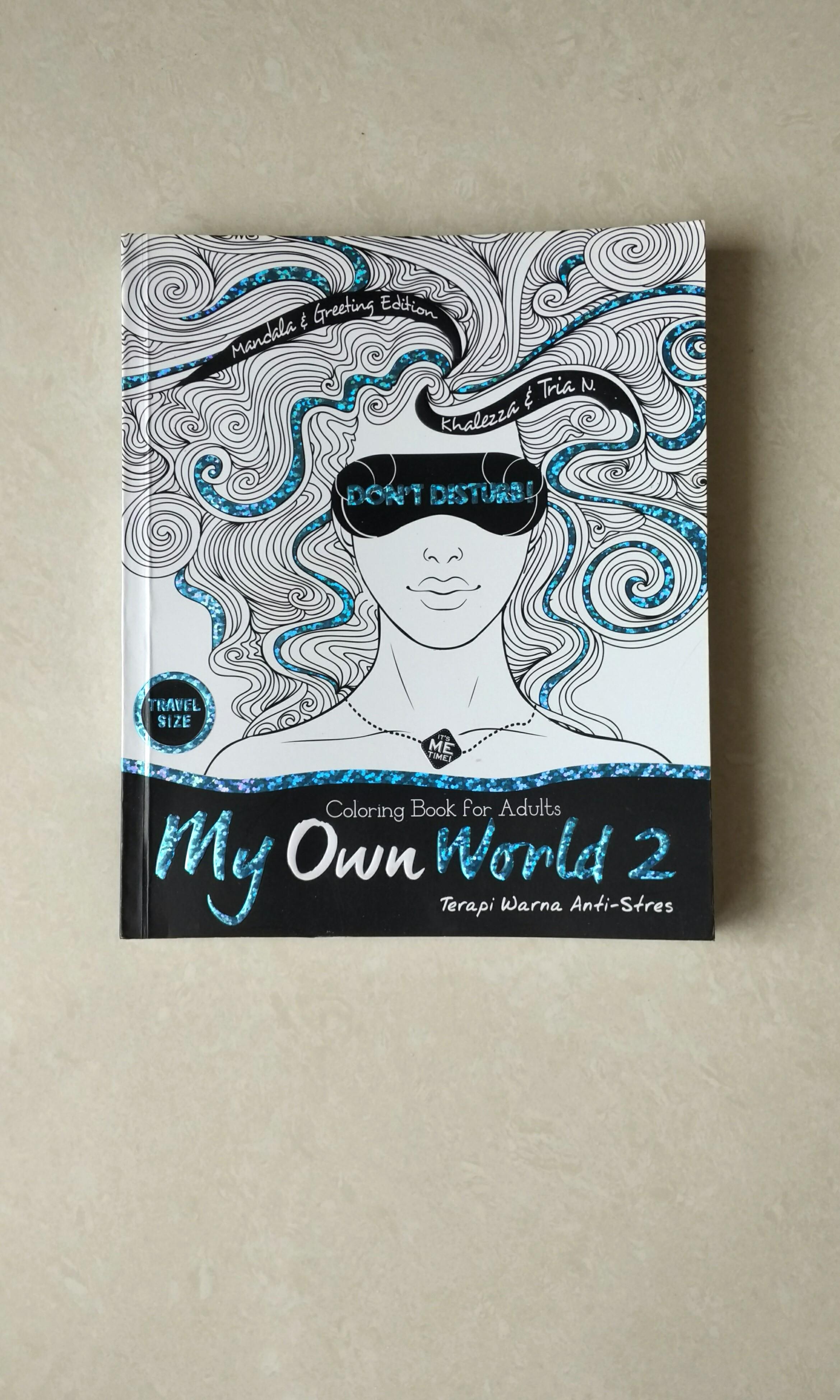 Coloring Book For Adult Buku Alat Tulis Buku Di Carousell