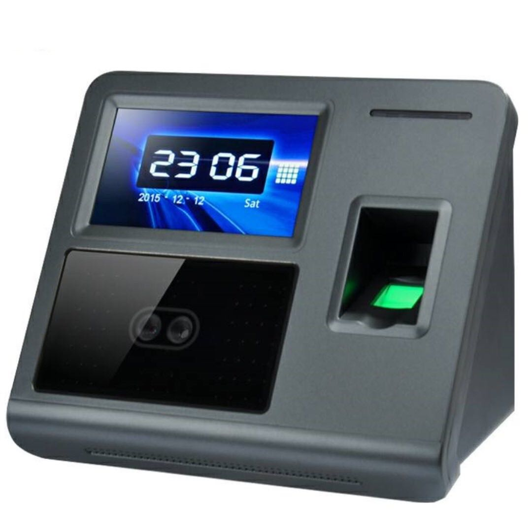 Facial Recognition and Fingerprint Scanner Attendance Device