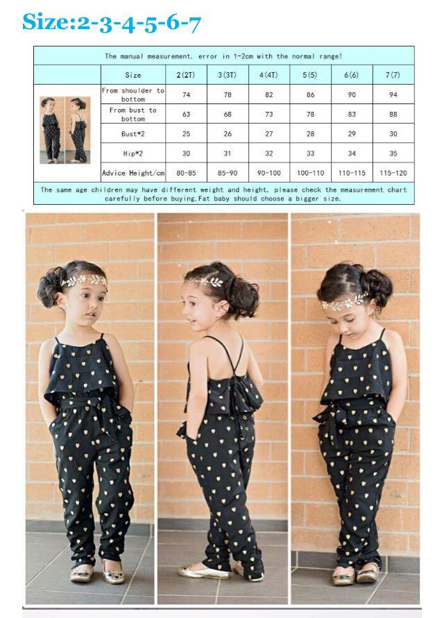 Girls romper - size 2-6