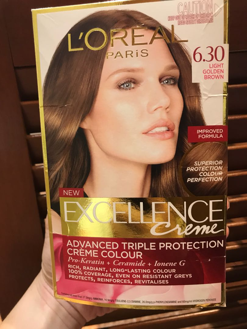 Loreal Hair dye light golden brown, Health & Beauty, Hair