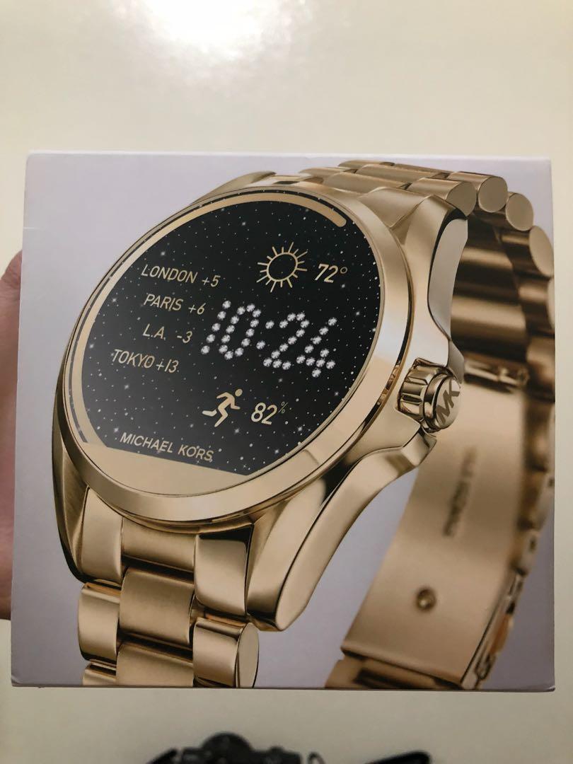 bbc3d6a7d20 Michael Kors Access Bradshaw Gold Tone Smartwatch