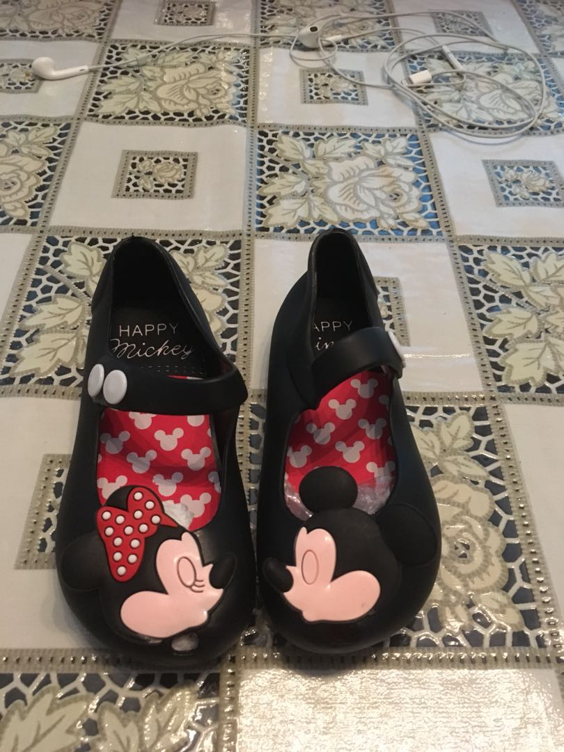 Mini mouse Melissa shoes- sizes 24-32