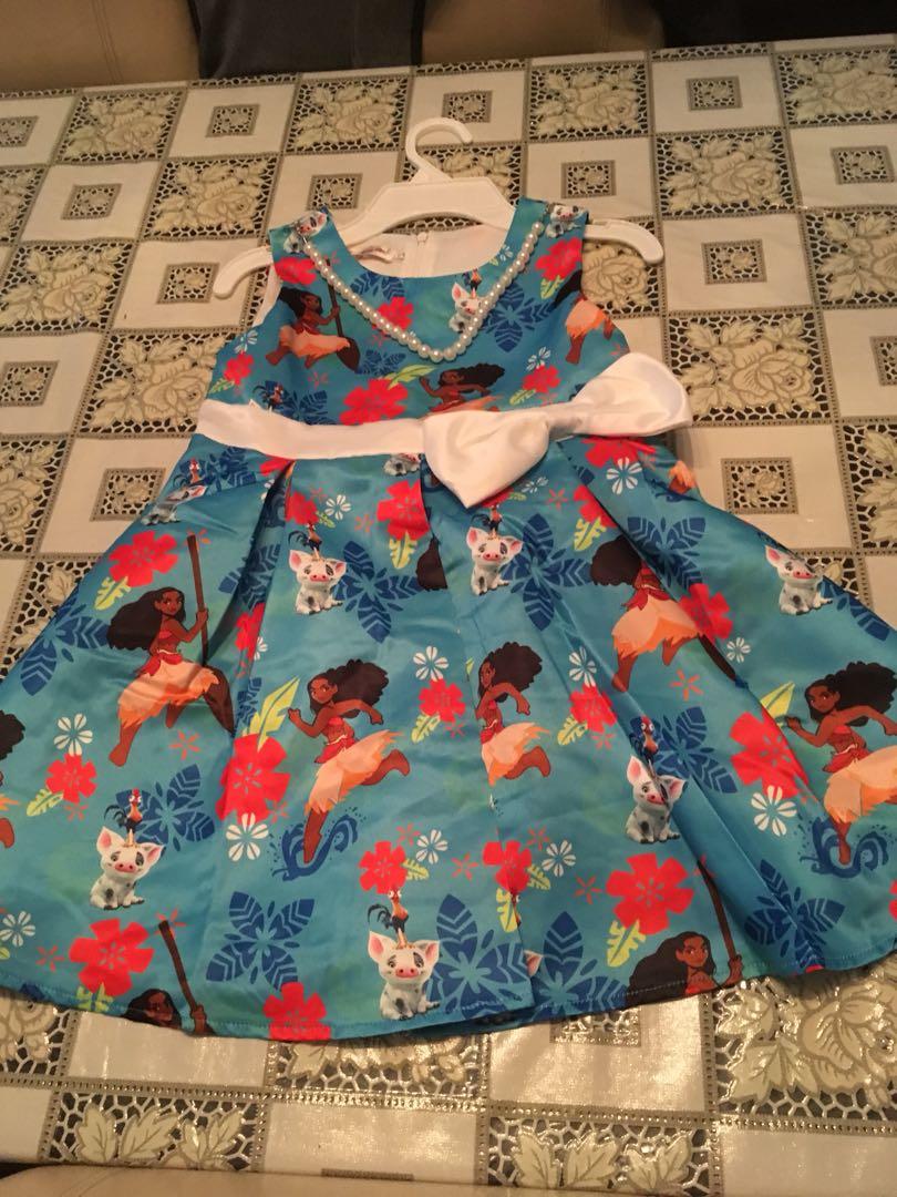 Moana dress - size 3-9
