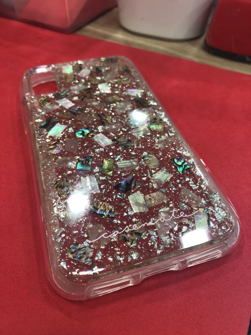 size 40 2aaaa 35060 Mother of Pearl Casemate IPHONE X case