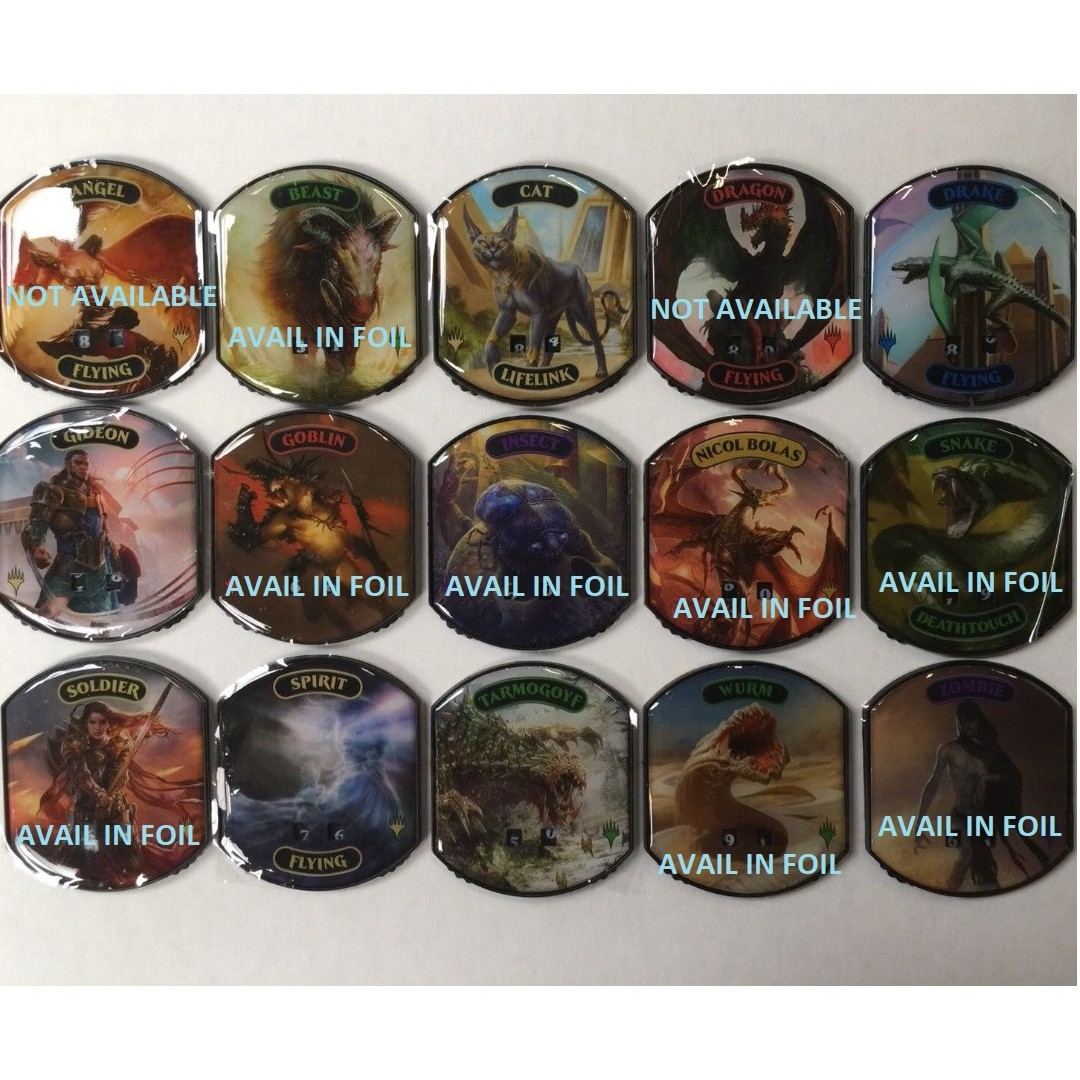 graphic regarding Printable Mtg Tokens identified as MTG Relic Tokens Extremely Skilled Counters (Everlasting Variety