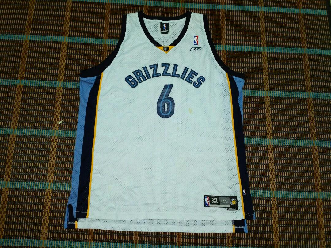 watch b75dd 88c9e NBA Memphis Grizzlies jersey