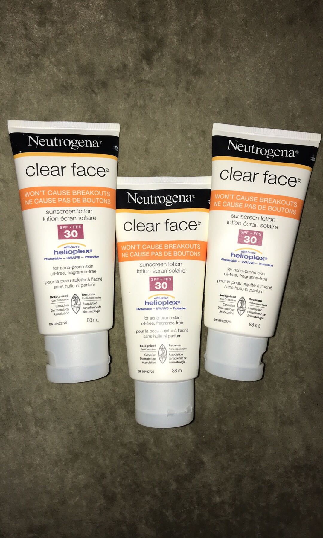 neutrogena sunscreen lotion
